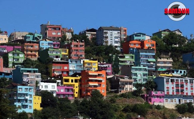 Binalar olimpiyat renklerinde