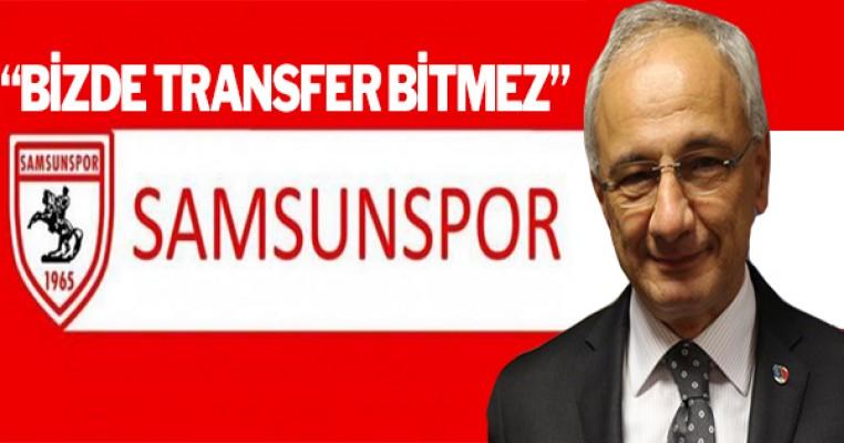 'Bizde transfer bitmez'