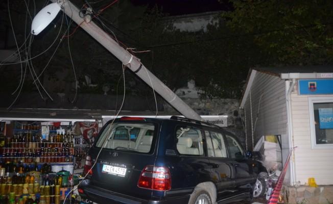 Bursa`da trafik kazası: 2 ölü, 1 yaralı