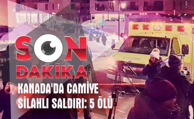 Camiye SİLAHLI Saldırı 5 ölü