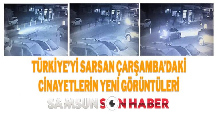Çarşamba`daki Cinayetin Yeni Kamera Görüntüleri