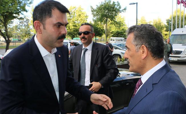 Çevre ve Şehircilik Bakanı Samsun'da