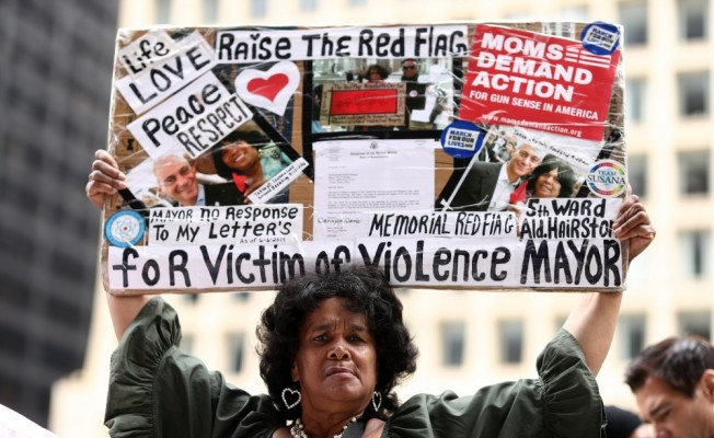 Chicago`da savaş karşıtı protesto