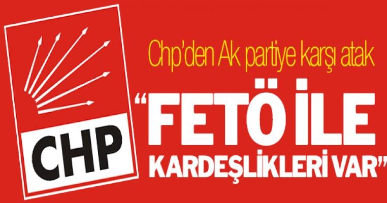 CHP`den karşı atak: ``FETÖ ile kardeşlikleri var``