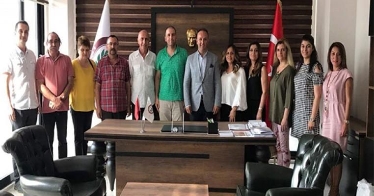 Chp Samsun yönetimi Samsun Eczacı odasını ziyaret etti
