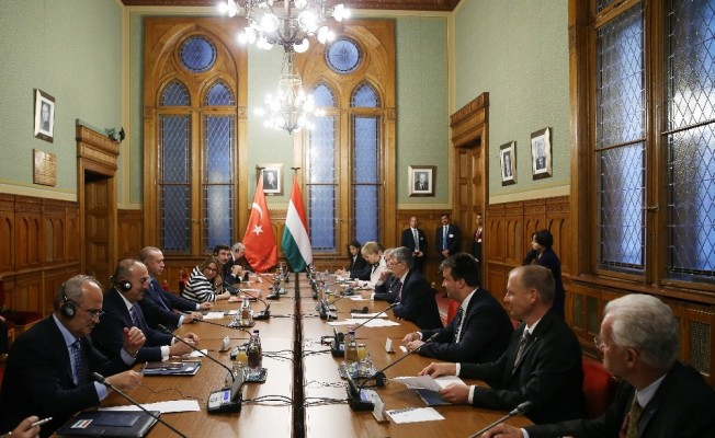 Cumhurbaşkanı Erdoğan, Köver ile Görüştü