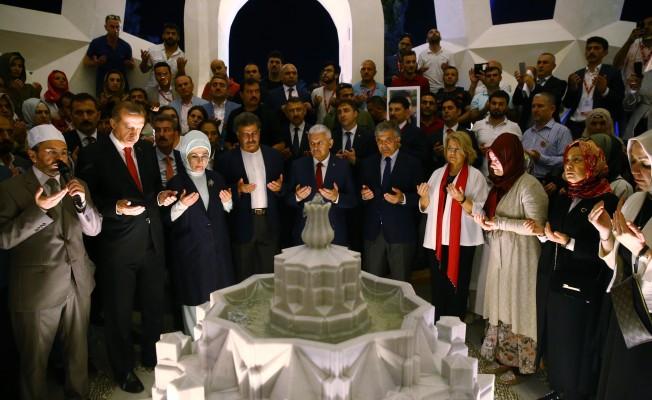 Şehitler Anıtı`nın açılışı yapıldı