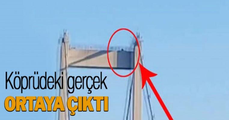 Darbe girişimi sırasında köprüde gerçek ortaya çıktı