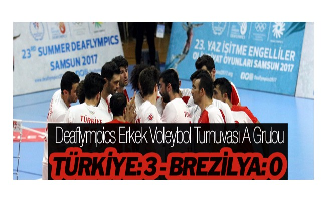 Deaflympics Erkek Voleybol Turnuvası A Grubu