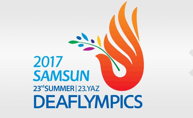 Deaflympics Samsun 2017 müsabakaları devam ediyor