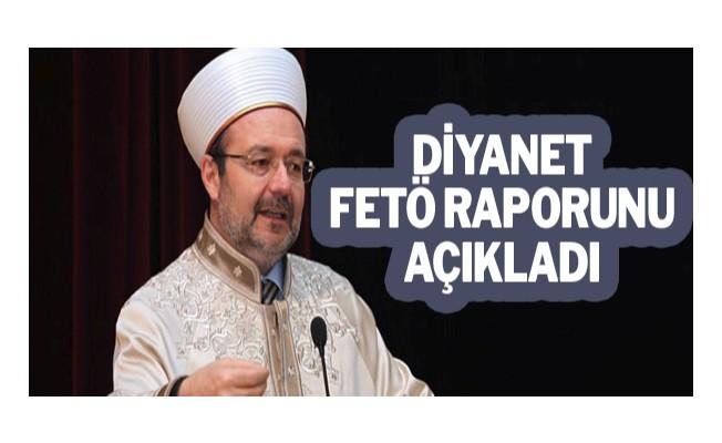 Diyanet FETÖ raporunu açıkladı