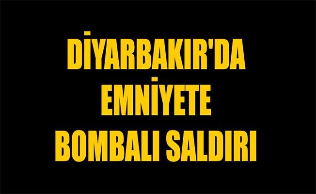Diyarbakır'da emniyete el bombalı silahlı saldırı