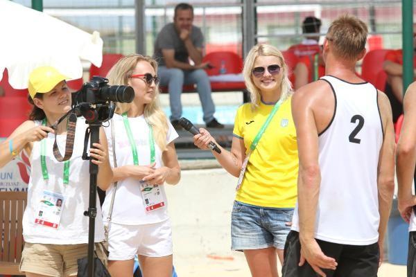 Engelliler Olimpiyatına yabancı gazeteci ilgisi
