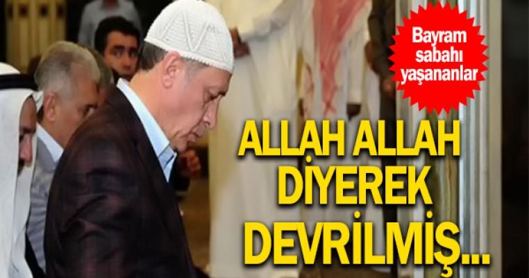 Erdoğan`ın geçirdiği rahatsızlığın detayları