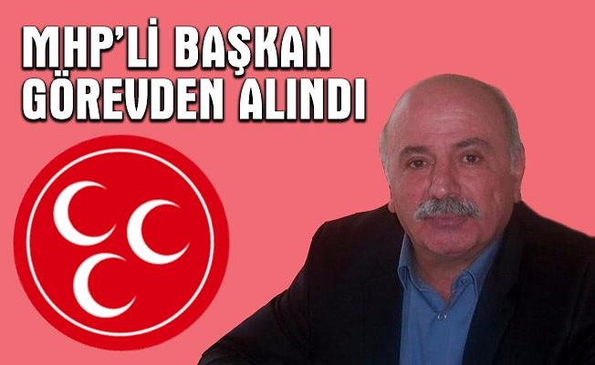 """""""Evet"""" kararına uymayan MHP'li başkan görevden alındı"""