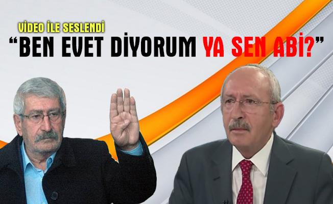 'Evet' kampanyasına CHP Genel Başkanı Kemal Kılıçdaroğlu'nun kar