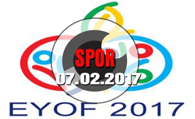 EYOF'a katılacak sporcular antrenmanlarına başladı