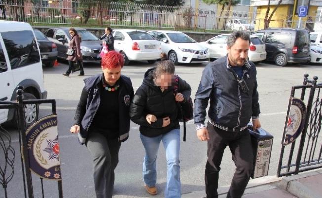 FETÖ'den aranan kadın polis Samsun'da gözaltına alındı