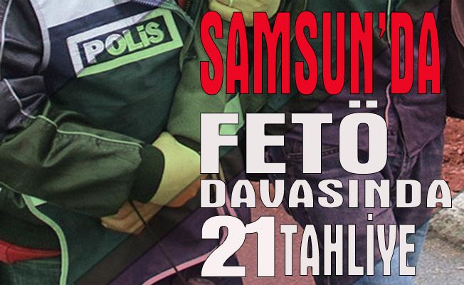 FETÖ/PDY davasında 21 tahliye