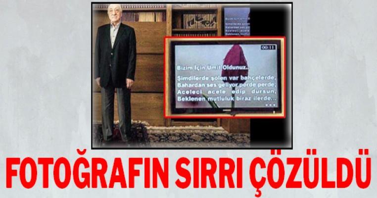Fetullah Gülen`in fotoğrafının sırrı çözüldü
