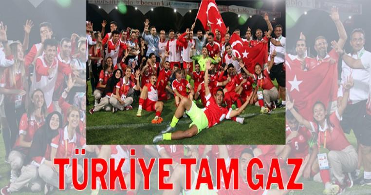 Futbol Milli Takımı üçlemenin ilk adımını attı