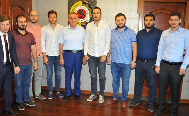 Genç MÜSİAD'dan TSO'ya Ziyaret