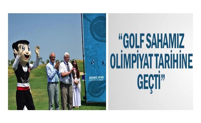 """Golf sahamız olimpiyat tarihine geçti"""