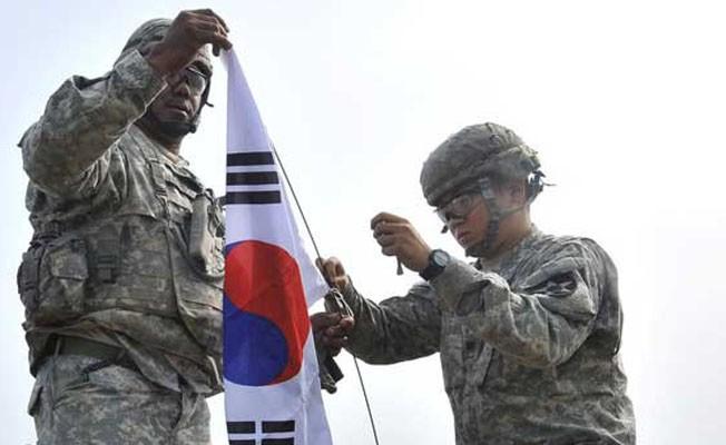 Güney Kore`deki ABD Askerlerinin Sayısı Azaltılacak Mı ?