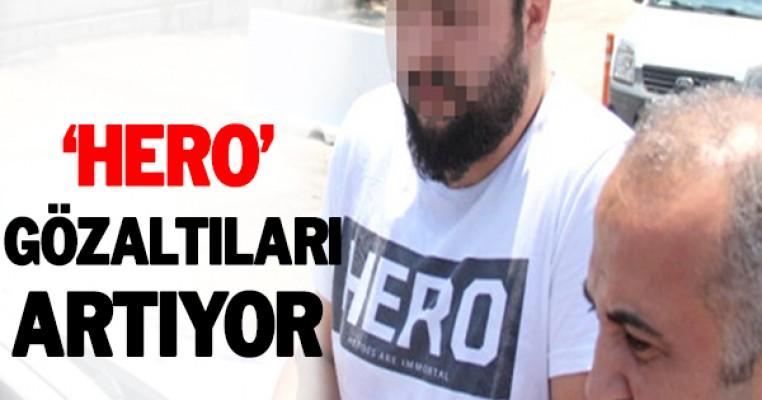 ``Hero`` tişörtüyle sınava giren kişi gözaltına alındı