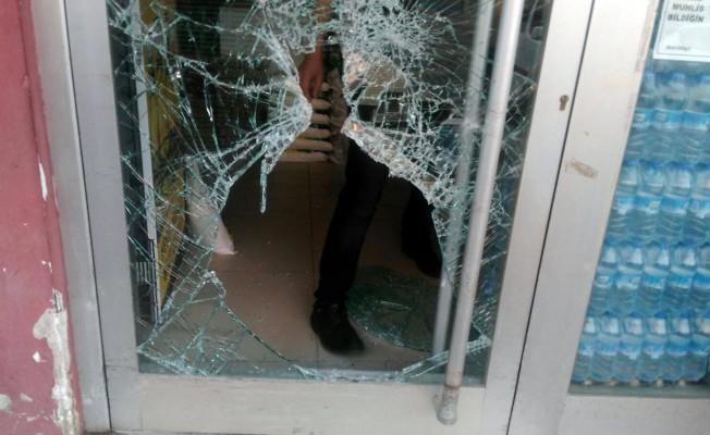 Hırsızlık şüpheli evine gidemeden yakalandı