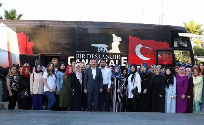 İlkadım Belediyesi`nden Çanakkale ve Bursa gezileri