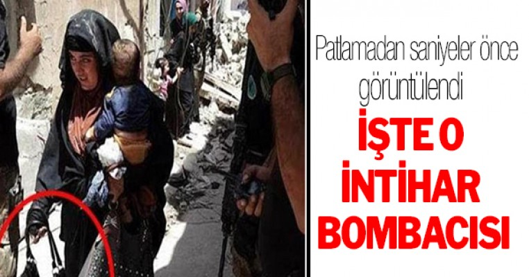 İntihar bombacısı patlamadan saniyeler önce görüntülendi