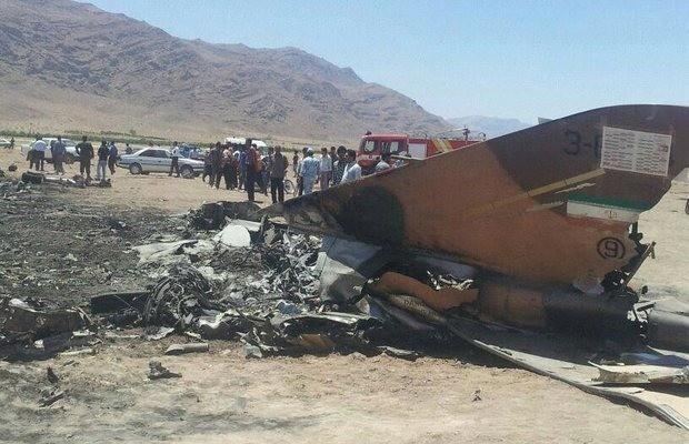 İran'da Uçak Düştü! 1 Ölü