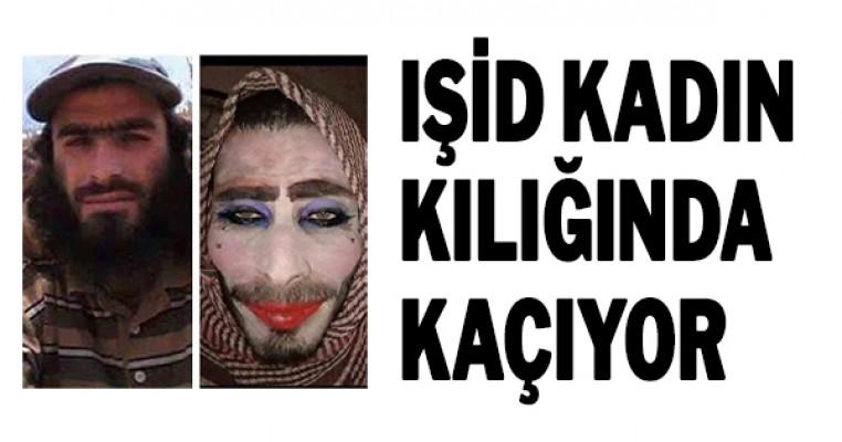 Işid Kadın Kılığında Kaçıyor