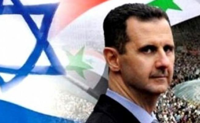 İsrail`den Esed İçin Skandal İddia!