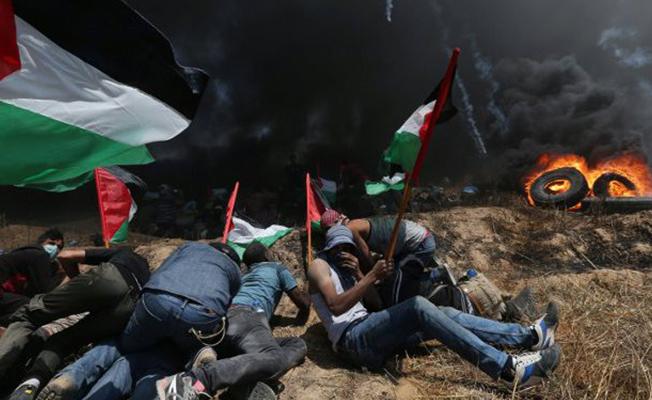 """""""İsrail Mazlum Kanı Akıtıyor"""""""