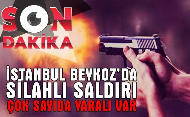 İstanbul Beykoz Anadolu Hisarı'ndaki ünlü bir restoranda silahlı saldırı m