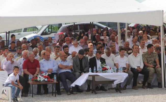 Kavak`ta 15 Temmuz Şehitler Camisi yapılıyor