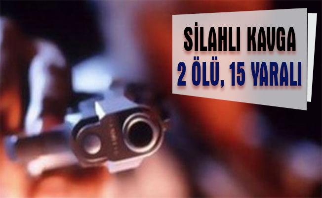 Kayseri`de silahlı kavga: 2 ölü, 15 yaralı