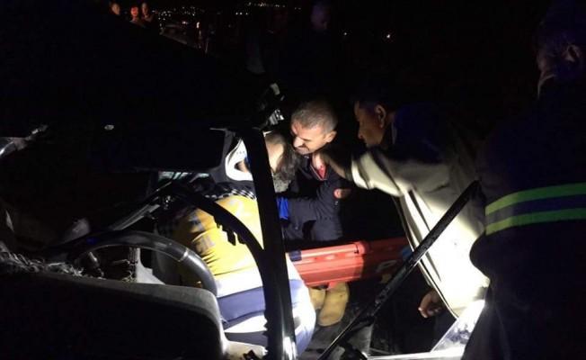 Kayseri'de feci kaza: 3 ölü 3 yaralı
