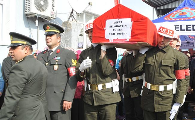 Kazada Şehadete Eren Samsunlu Asker Son Yolculuğuna Uğurlandı!