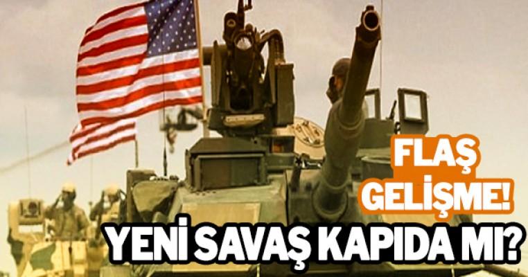 Korkutan gelişme! ABD tankları oraya gidiyor