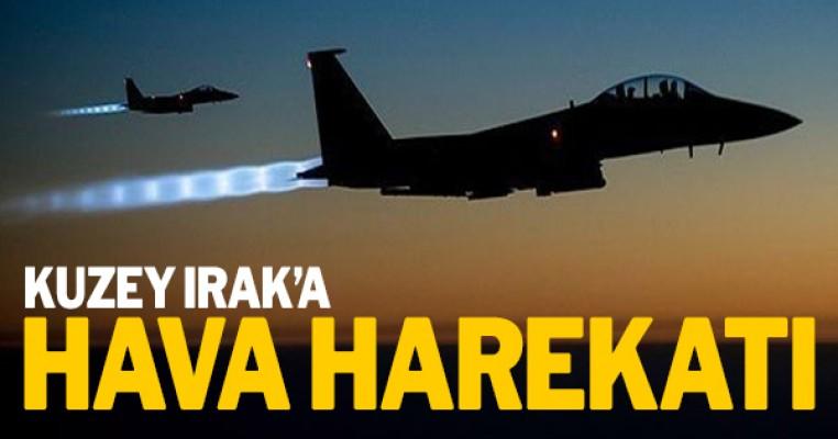 Kuzey Irak`a hava operasyonu