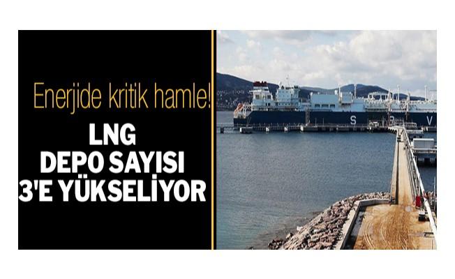 LNG depo sayısı 3`e yükseliyor