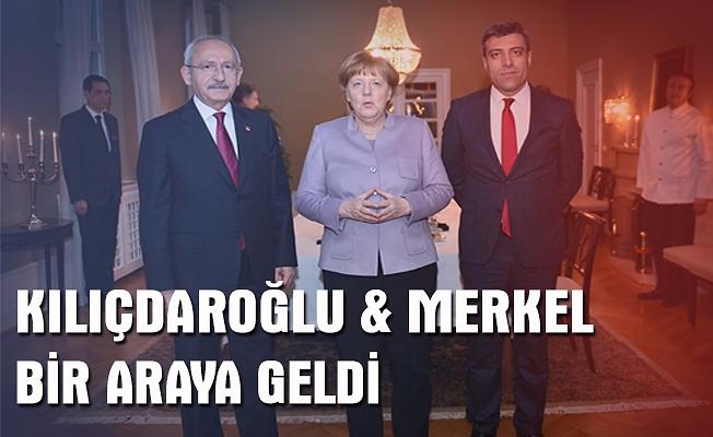 Merkel, CHP lideri Kılıçdaroğlu ile görüştü