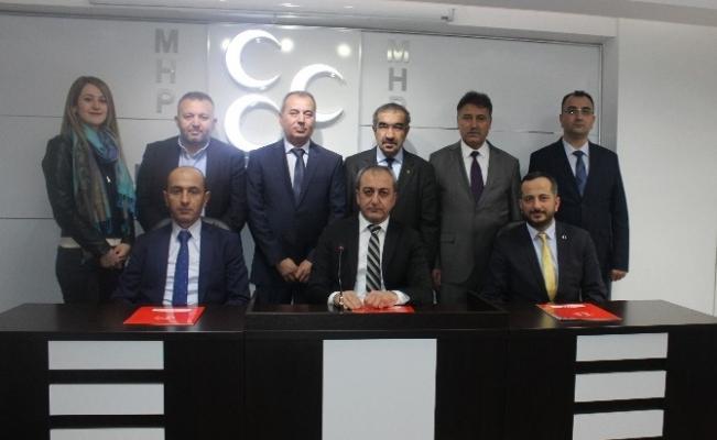 MHP Ankara İl Başkanı Çetinkaya, Trafik Çalıştayı'nın sonuç bildirgesini açıkla