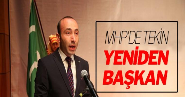 MHP Samsun`da başkan yeniden Taner Tekin