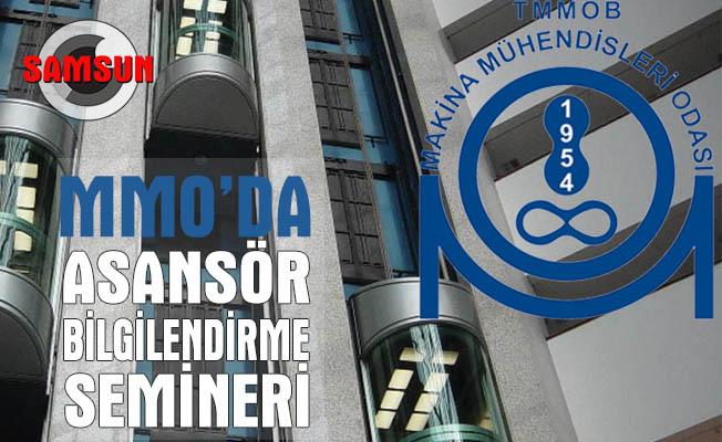 MMO'da Asansör Bilgilendirme Semineri düzenlendi