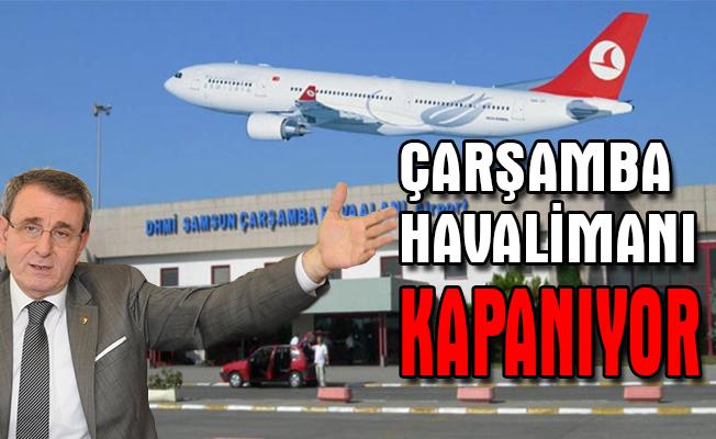 """Murzioğlu: """"Gönül isterdi ki havaalanımız kapanmasın"""""""