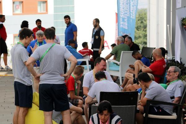 Olimpiyat köyü 8 bin misafiri ağırlıyor